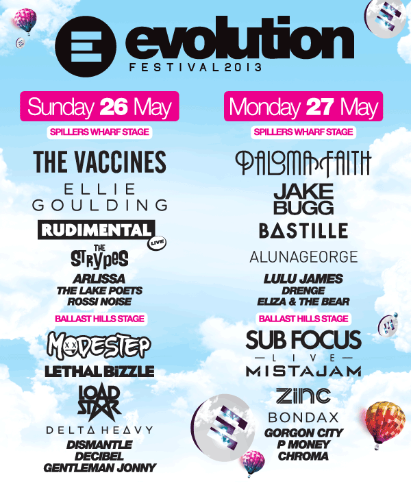 evo line up large
