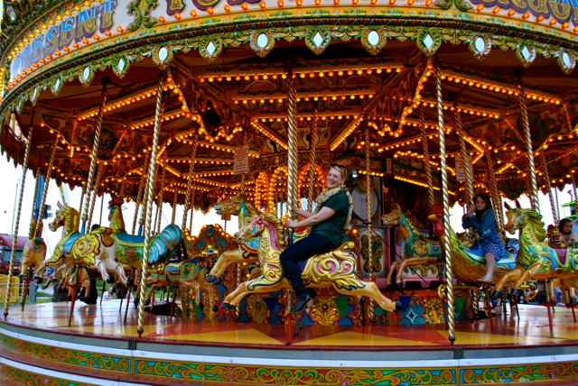 me on merry go round
