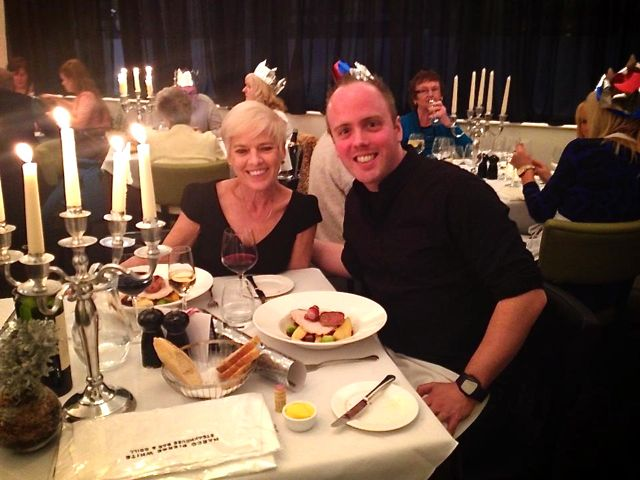 My friend Dan loves to spoil his mum at Marco Pierre White