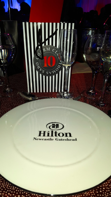 I was spoilt rotten with lovely food and generous goody bags including a special gift from Thomas Sabo!