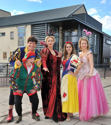 snow white panto whitley bay