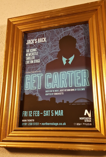 theatre newcastle gangster