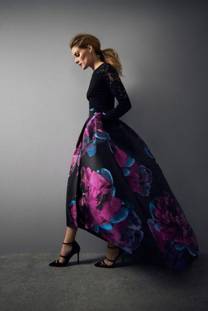 The Exeter Jacquard Skirt