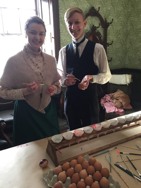 Easter Egg Decorating at Beamish Museum