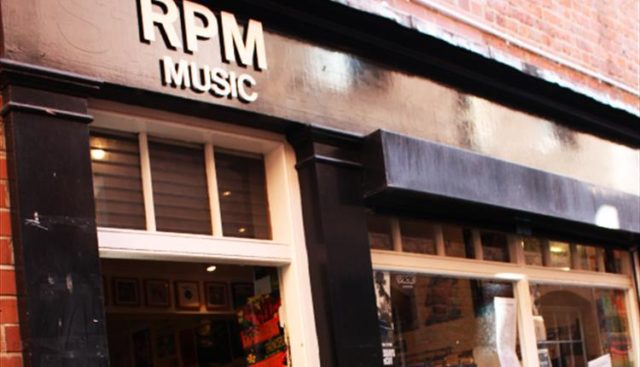 rpm music record shop old george street newcastle