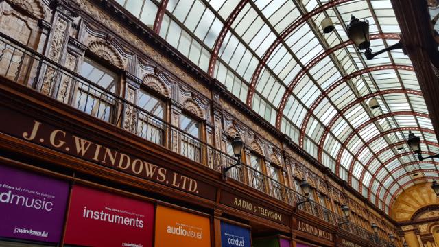 j.g windows central arcade newcastle