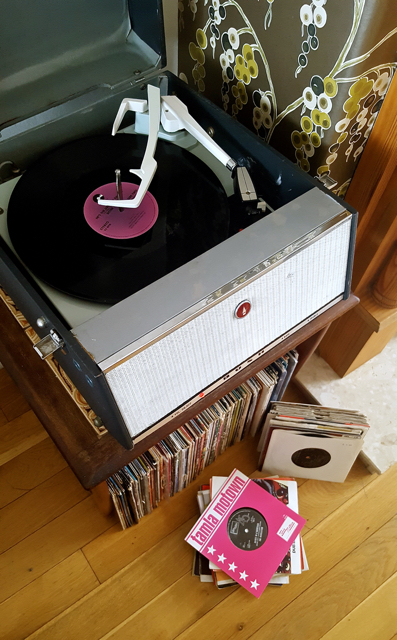 record collection vinyl blogger music