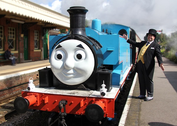 Thomas the Tank Engine with the Fat Controller