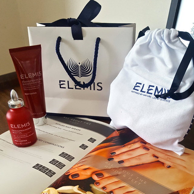 Elemis treats from All About You Spa in Newcastle