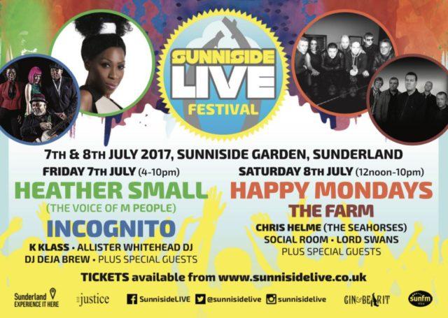 Live music in Sunderland Happy Mondays