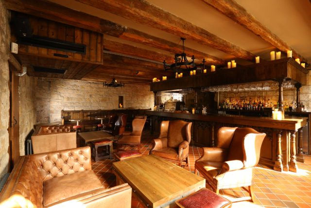 Bar interior traditional newcastle friars