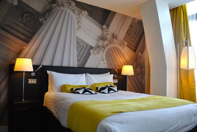 newcastle city break hotel room