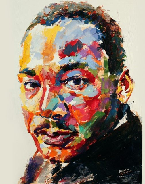 martin luther king artwork