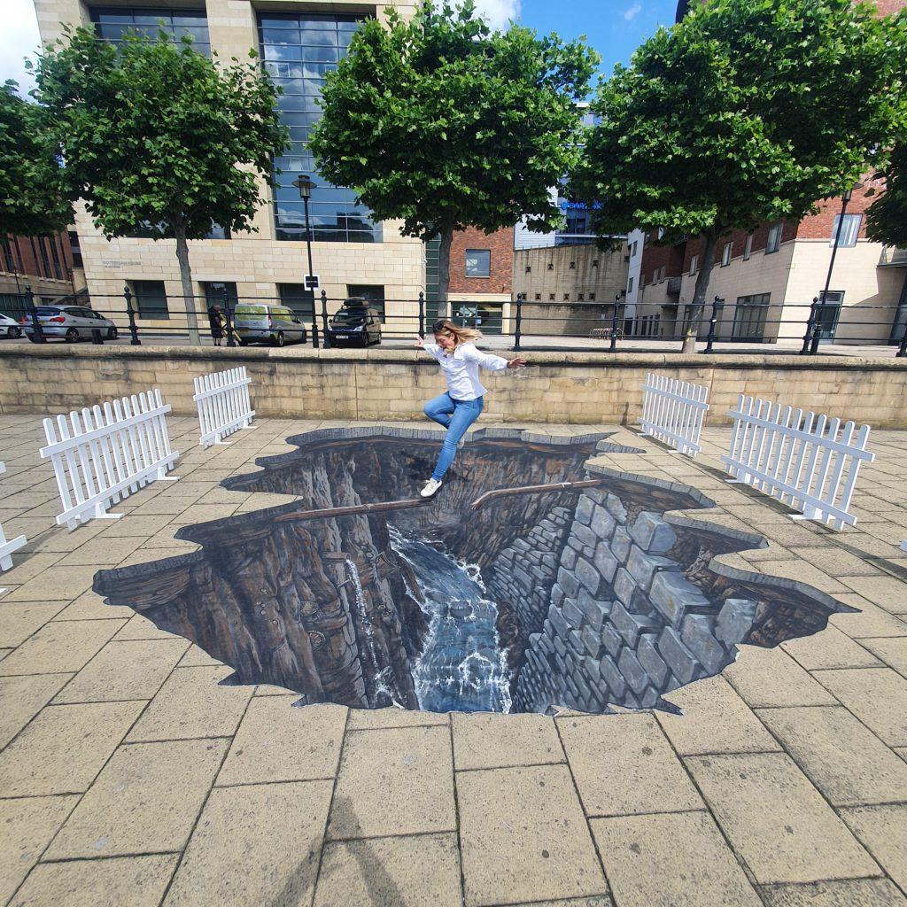 ne1 summer in the city 3d art